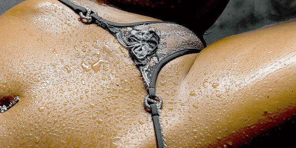 濡れた下着